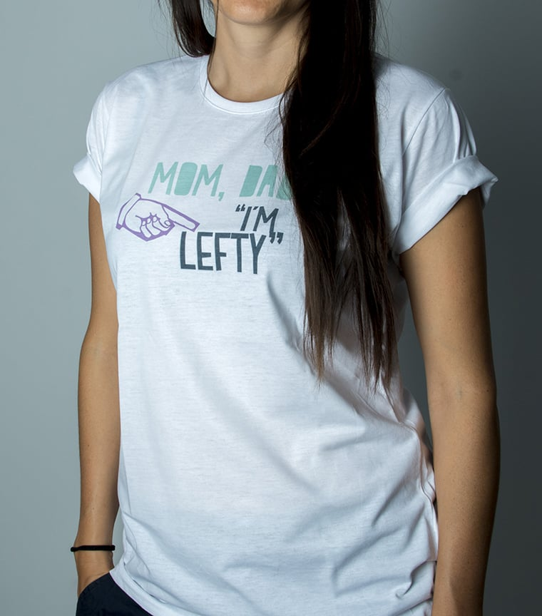 Camiseta Mom, Dad I