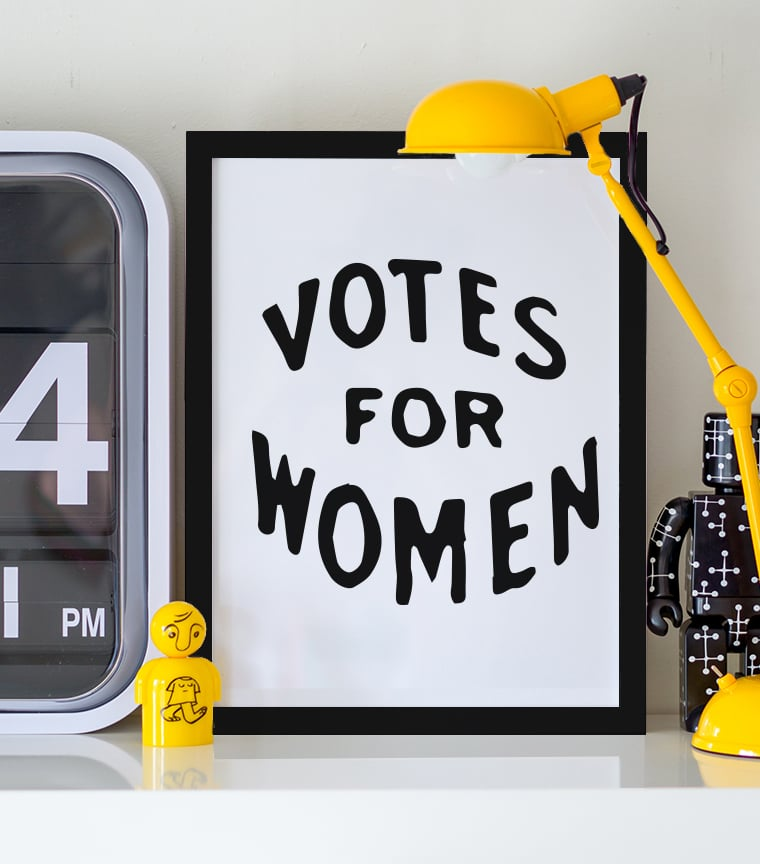 Poster Votes for Women