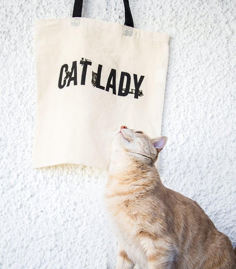 Bolsa Cat Lady