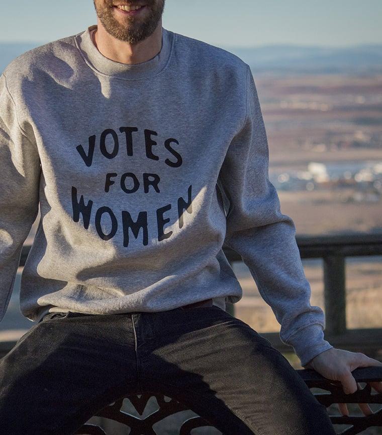 sudadera Vote for Women