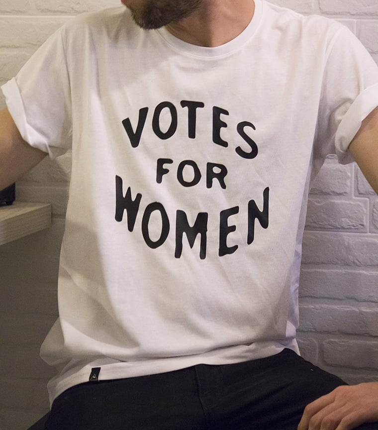 Camiseta Votes for Women
