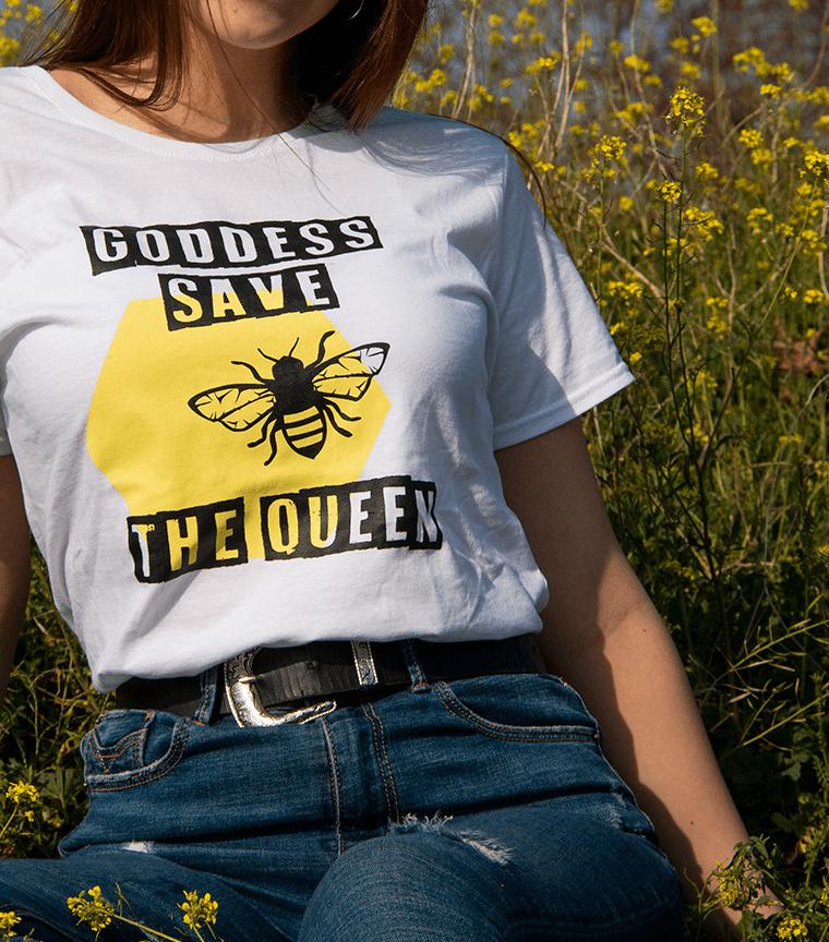 Camiseta Goddess Save The Queen