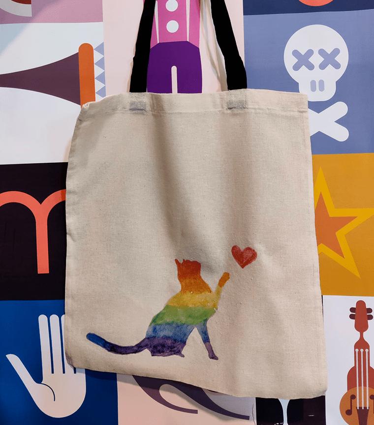 Bolsa Rainbow Cat