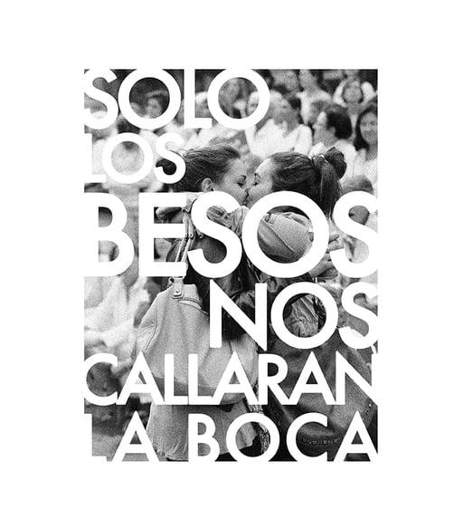 SOLO LOS BESOS NOS CALLAR�N LA BOCA