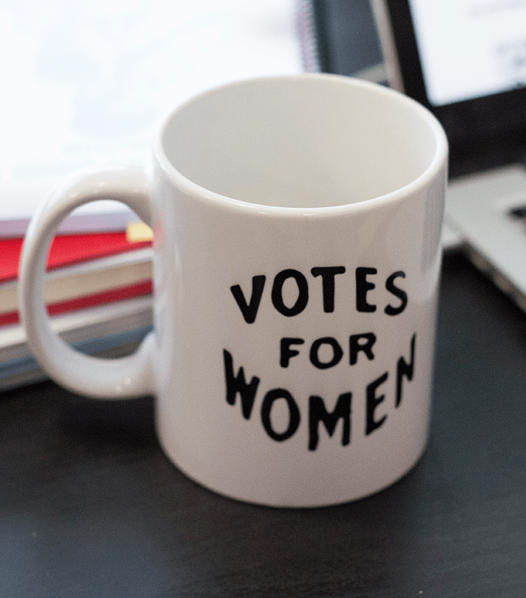 Taza Votes for women
