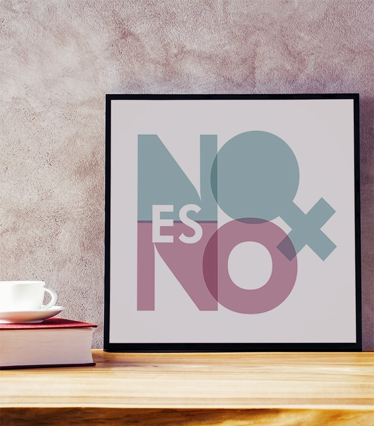 Poster No es No