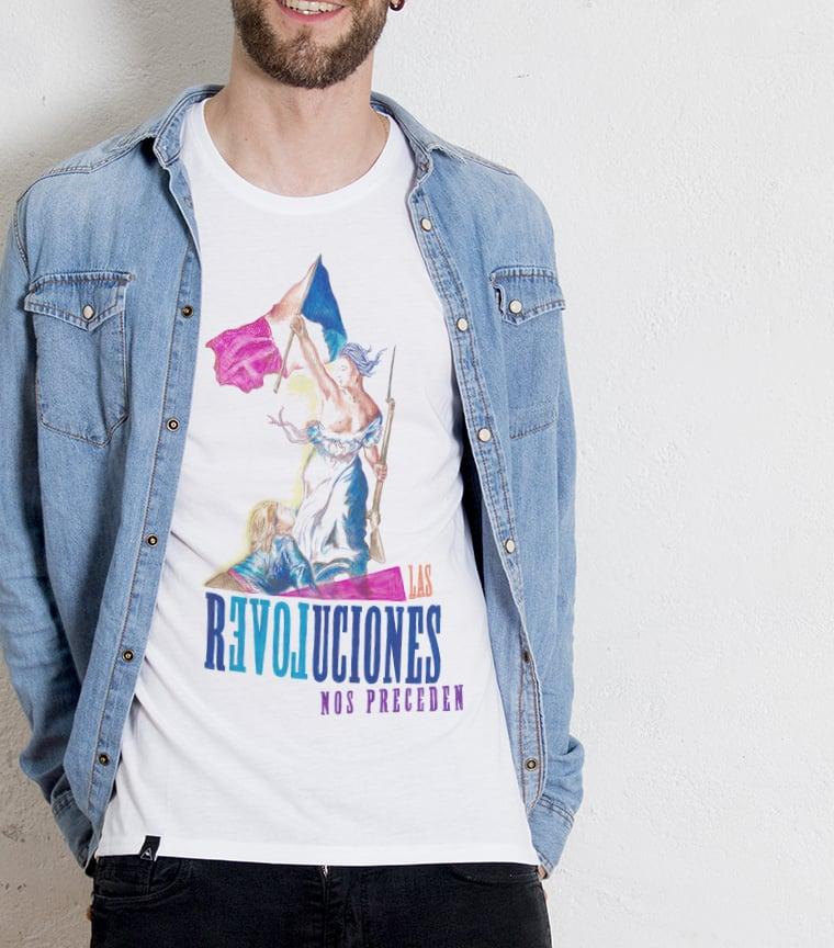Camiseta Las revoluciones nos preceden